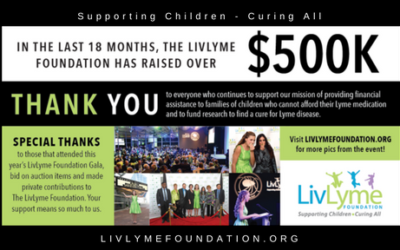 2018 LivLyme Gala Thank You!