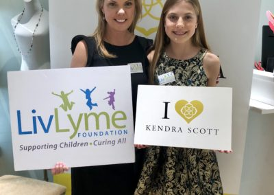 Kendra Scott Jewelry gave a percentage of their sales at a Jewelry party