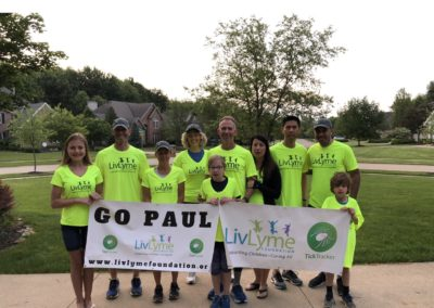 Paul ran 18 marathons in 18 days from OH to DC to raise awareness & over $35,000 for grants for children with Lyme
