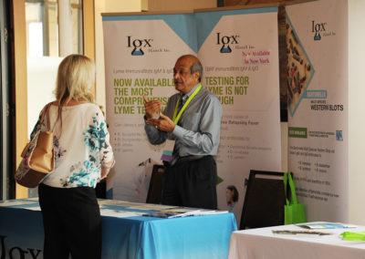 Sudhir Shah explaining IGeneX testing.